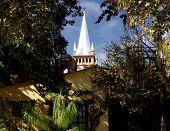 stock photo of hacienda  - church in the hacienda de san miguel regla mexico - JPG