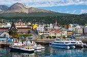 Hafen von Ushuaia, Feuerland, Argentinien