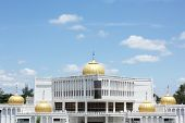 pic of gurudwara  - Domes of Govind Singh Museum at Nanded - JPG
