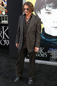 HOLLYWOOD, CA. - MAY 7: Actor Johnny Depp arrives at Warner Bros. Pictures World Premiere of 'Dark Shadows' on May 7, 2012 at Graumans Chinese Theatre in Hollywood, Ca.