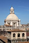 Cityscape And Cathedral Of Catania, Italy