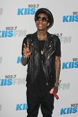 LOS ANGELES - MAY 12:  Wiz Khalifa. arrives at the