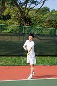 Aisan Tennis Player
