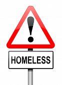 Homeless Concept.