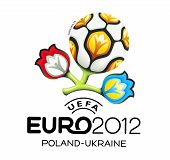 Official sign for UEFA EURO 2012