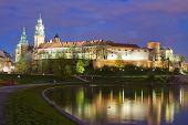 Krakow city in Poland, Central Europe