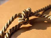 Gold Rope Knot