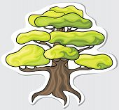 Stylized tree for your design.