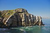 Suances cliffs