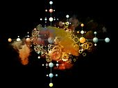 Organic Science Abstraction poster