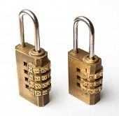 Pair Of Golden Code Master Key