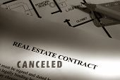 Real Estate Contract Canceled