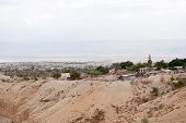 picture of jericho  - Landscape of jericho and judean desert in palestine - JPG
