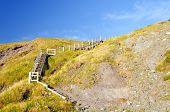 Stairway To A Coastal Beach