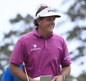 Phil Mickelson at The Players Championship 2012