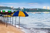 Pattaya beach and words