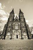 Prague, Basilica. Vysehrad.
