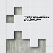 foto of tile  - Abstract vector background - JPG