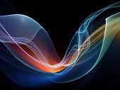 picture of sine wave  - Fractal Wave series - JPG