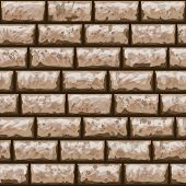 Dirty Brick Wall Seamless Pattern