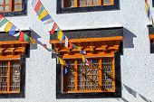 picture of vihara  - The Chokhang Vihara at Leh - JPG