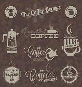 foto of pot roast  - Collection of retro style coffee house labels and icons - JPG
