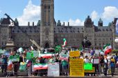 Iranian Election Protest In Canada