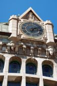 picture of gare  - Detail of Gare du Palais the railway and bus station of Quebec City - JPG
