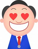 Funny Businessman In Love