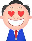 Funny Businessman In Love