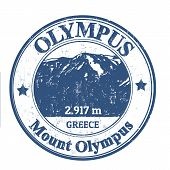 Mount Olympus Stamp
