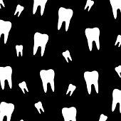 Background with teeth