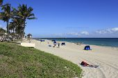 Relaxing At Deerfield Beach
