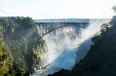 Victoria Falls On Zambezi River