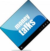 Video Media Player For Web With Money Talks Word