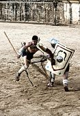 Retiarius Gladiator Fall