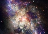 foto of outer  - Star field in space - JPG