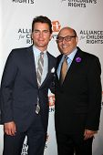 LOS ANGELES - APR 7:  Matt Bomer, Willie Garson at the Alliance for Children's Rights' 22st Annual D