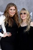 LAS VEGAS - APR 6:  Hillary Scott, Stevie Nicks at the 2014 Academy of Country Music Awards - Arrivals at MGM Grand Garden Arena on April 6, 2014 in Las Vegas, NV