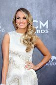 LAS VEGAS - APR 6:  Carrie Underwood at the 2014 Academy of Country Music Awards - Arrivals at MGM G