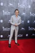 LAS VEGAS - APR 6:  Hunter Hayes at the 2014 Academy of Country Music Awards - Arrivals at MGM Grand