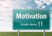 Highway Signpost Motivation