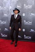 LAS VEGAS - APR 6:  Tim McGraw at the 2014 Academy of Country Music Awards - Arrivals at MGM Grand G