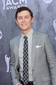 LAS VEGAS - APR 6:  Scotty McCreery at the 2014 Academy of Country Music Awards - Arrivals at MGM Gr