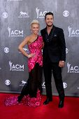 LAS VEGAS - APR 6:  Luke Bryan at the 2014 Academy of Country Music Awards - Arrivals at MGM Grand G