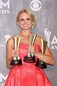 LAS VEGAS - APR 6:  Miranda Lambert at the 2014 Academy of Country Music Awards - Arrivals at MGM Grand Garden Arena on April 6, 2014 in Las Vegas, NV