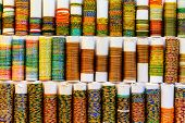 Indian Bangles in a shop