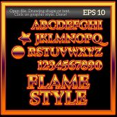 Flame Work Graphic Style