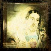 Instagram style image of Jesus