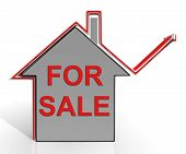 For Sale House Means Selling Real Estate